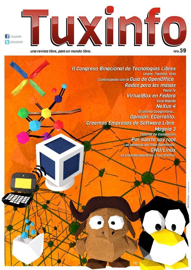 TuxInfo Nro. 59 – II Congreso Binacional de Tecnologías Libres