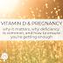 Vitamina D e gravidez: por que é importante, por que a deficiência é comum e como garantir que você está recebendo o suficiente.