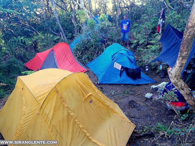 Mt. Guiting-guiting campsite