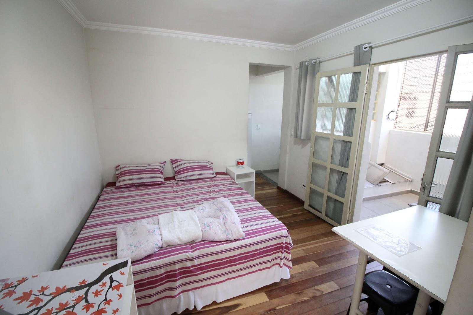 Azure Flats Palermo -> Quarto Sala E Cozinha Conjugadas