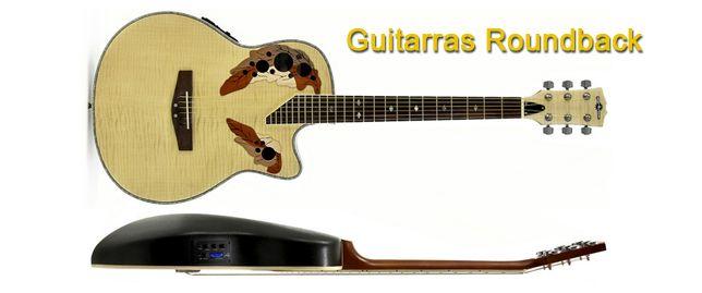 Guitarras Electroacústicas Redondeadas por Detrás Roundback