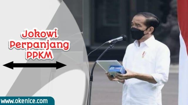 Jokowi perpanjang ppkm