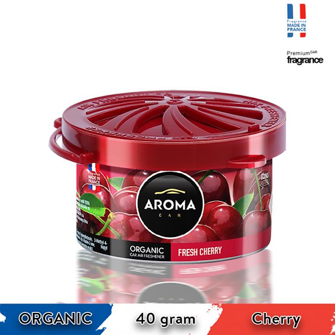 Sáp thơm ô tô Aroma Car Organic 40g - Cherry
