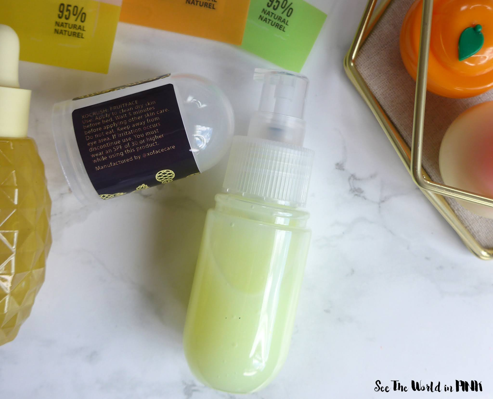 XO Treatment Room - Pineapple Exfoliating Gel