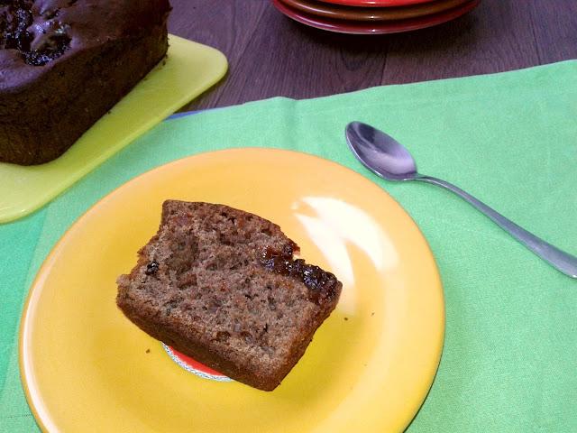 рецепт кекс з какао і абрикосовим варенням