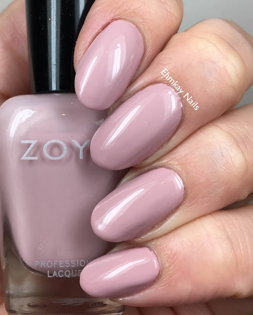 Zoya Naturel 4 Collection, Swatches and Review