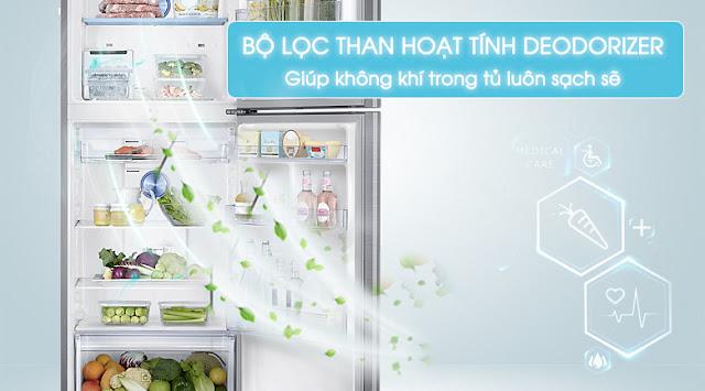 Tủ lạnh Samsung Inverter 364 lít RT35K5532S8/SV