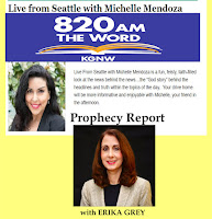 y report, bible prophecy news, bible prophecy updates, Michelle Mendoza, Erika Grey