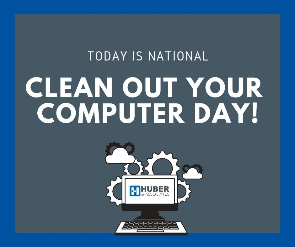 National Clean Out Your Computer Day Wishes Images download