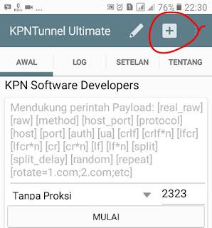 kpn tunnel ultimate belum terisi payload