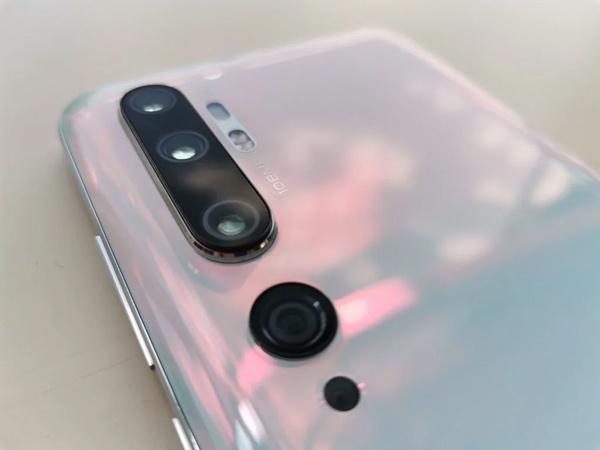 كاميرات هاتف Xiaomi Mi Note 10