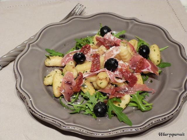 Salade de gnocchis méridionale