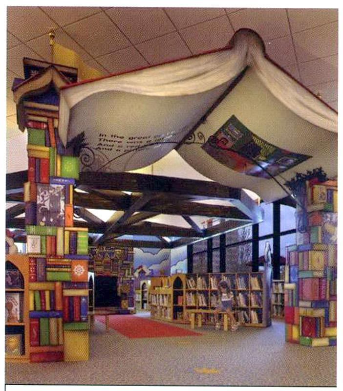 Interesting Home Library Designs For Modern Homes: Happy Kids: Top 10 Children's Libraries