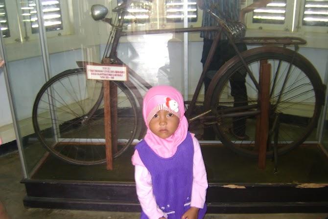Sepeda Onthel Bung Karno di Bengkulu