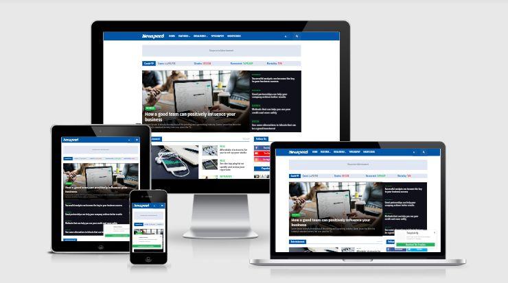 Share Template Blogspot Newspeed Professional News & Magazine Premium