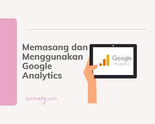 Memasang Google analytics
