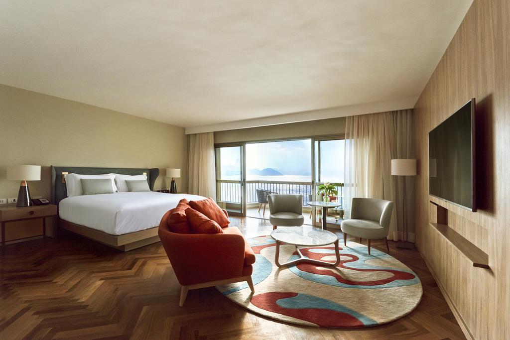fairmont hotel room rio de janeiro