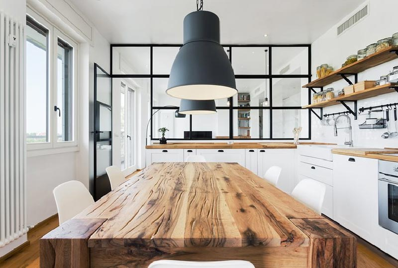 cucina - appartmento SD by Nomade Architettura