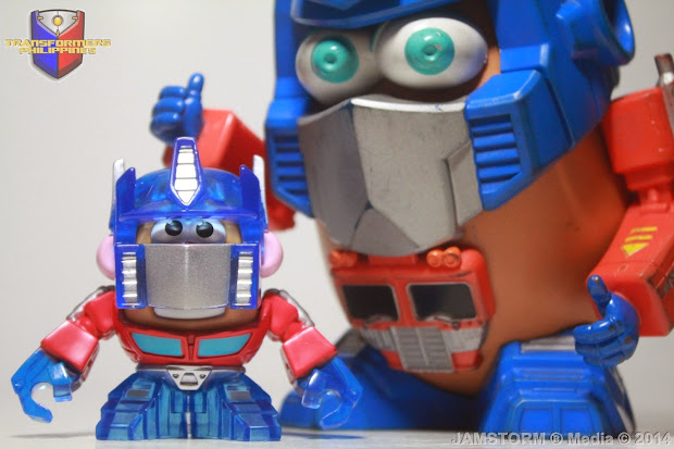 Transformers Philippines Mixable Mashable Heroes Optimus