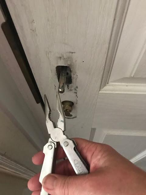 fix door handle