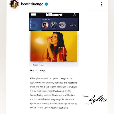 Beatriz en el album en español de Xtina