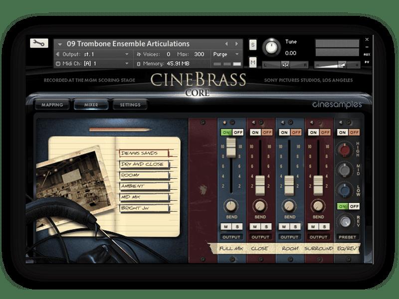 CineBrass CORE v1.7 KONTAKT Library