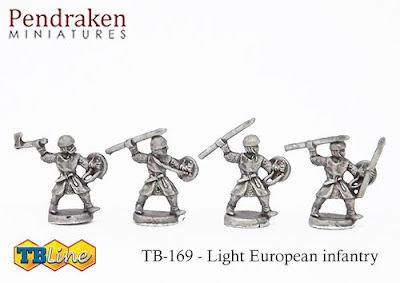 TB-4169   Light European infantry (30)