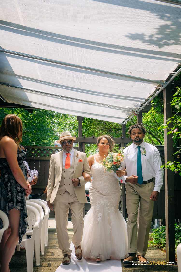 Ann Arbor Stone Chalet Inn Wedding Photography Outdoor Ceremony by SudeepStudio.com Ann Arbor Detroit Michigan Wedding Photographer