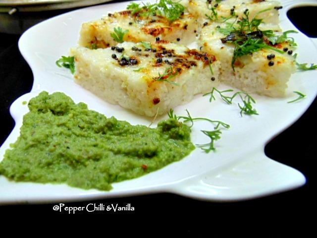 gujrati khata dhokla recipe