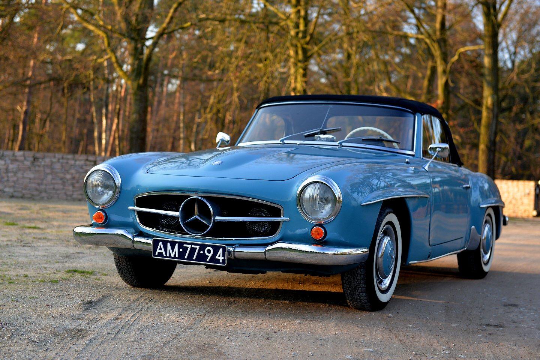 1960 Mercedes-Benz 190 SL Convertible | STUURMAN CLASSIC and SPECIAL ...