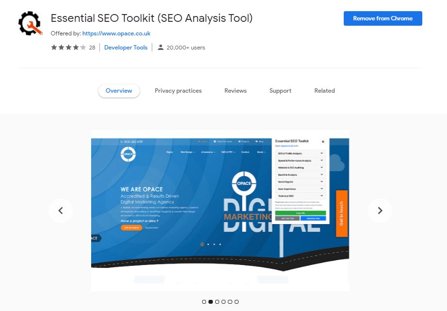 Essential SEO Toolkit