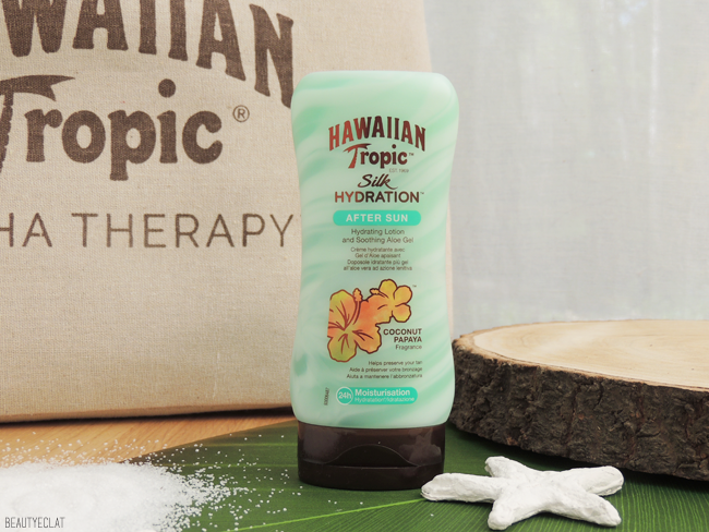 avis hawaiian tropic silk hydratation after sun