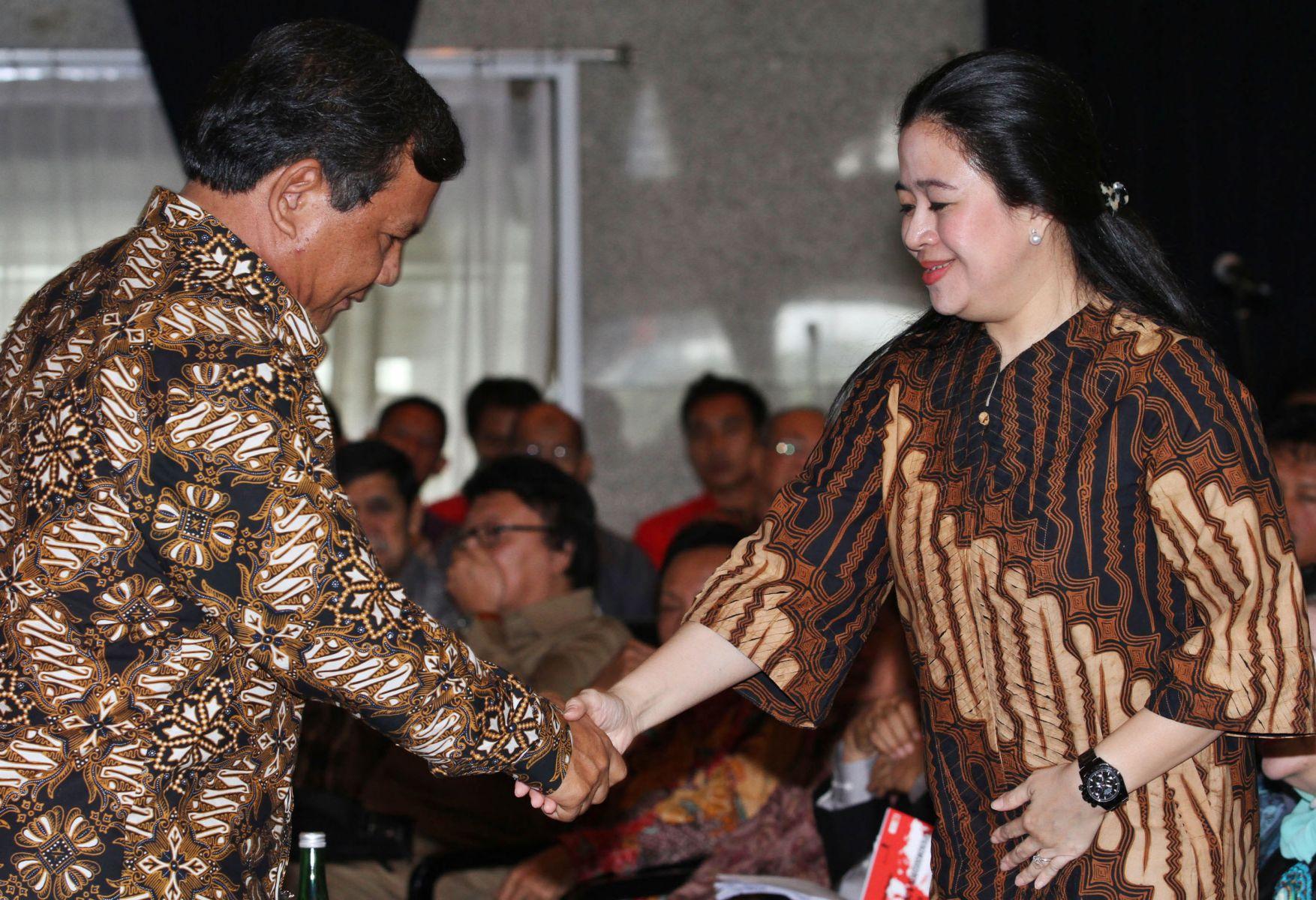 Survei Polmatrix: Prabowo-Puan Paling Kuat, Siapa Penantang Terdekatnya?