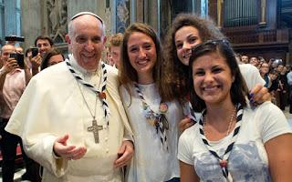 Papa Francisco, jóvenes, OMP, Asamblea General omp, iglesia y los jóvenes
