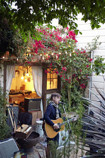 Nate Baker house concert in San Francisco