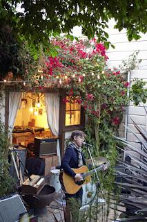 Nate Baker house concert in San Francisco