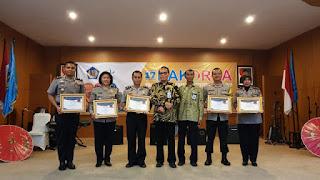 Polres Cirebon Raih Penghargaan Peringkat Pertama Dalam Pengelolaan Keuangan