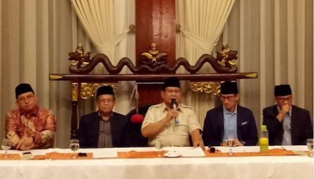 Prabowo-Sandi Desak Jokowi Kurangi Impor dan Acara Seremonial