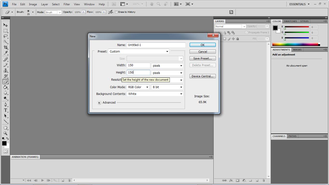 Cesc Widi Blogg Cara Membuat DP BBM Text Animasi Dengan PhotoShop