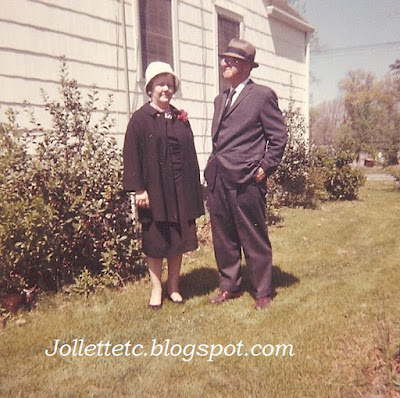 Grandma and Granddaddy Davis https://jollettetc.blogspot.com