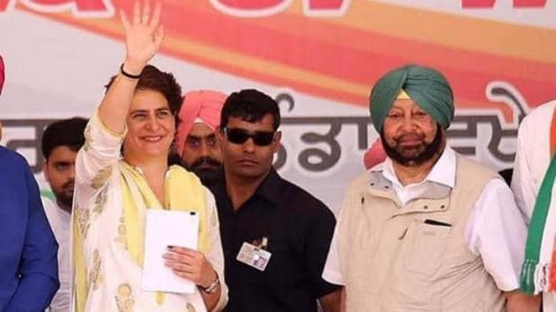 कैप्टन ने फिर की युवा नेतृत्व की वकालत, कहा- प्रधान पद के लिए प्रियंका गांधी आदर्श उम्मीदवार