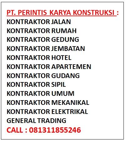 Daftar Kontraktor Bangunan