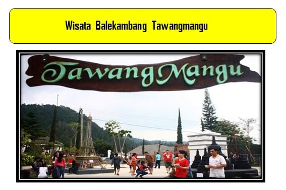 Wisata Balekambang Tawangmangu