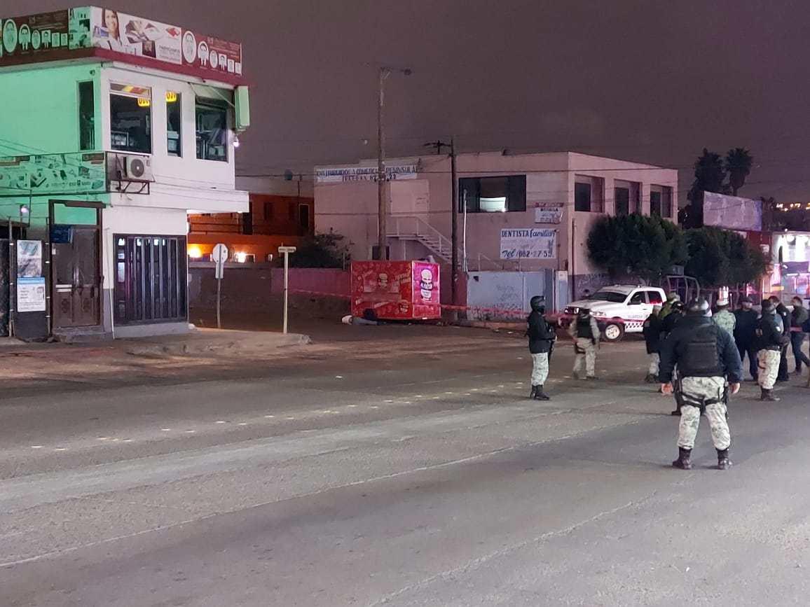 Dos Elementos de la Guardia Nacional y un Sicario muertos saldo de enfrentamiento en Tijuana