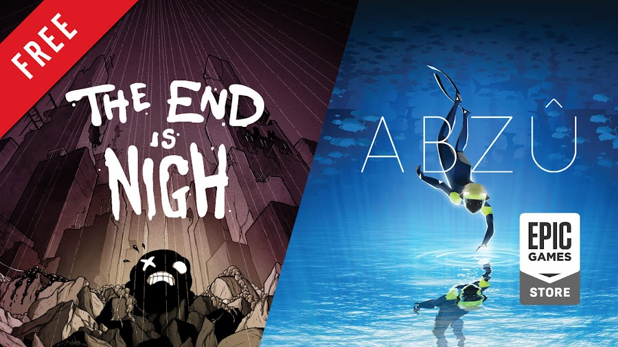 the end is nigh abzu free pc game epic games store edmund mcmillen tyler glaiel giant squid 505 games