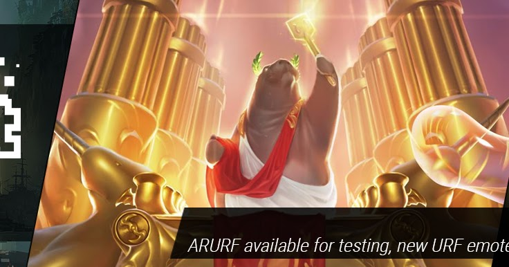 Surrender at 20: 2/10 PBE Update: ARURF up for testing, Urf Emote
