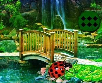 Juegos de Escape - Ladybug Rainforest Escape