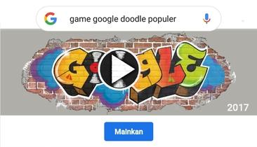 10 Game Google Doodle Populer, Permainan Interaktif