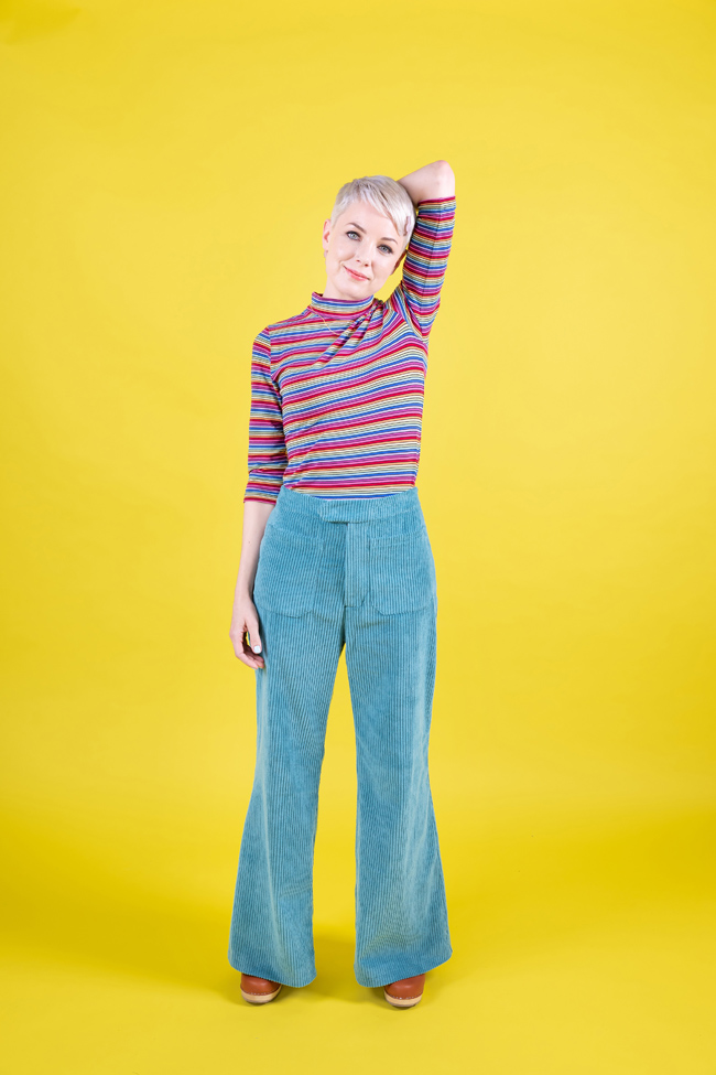 Tilly and the Buttons - Fitting the Jessa trousers and shorts