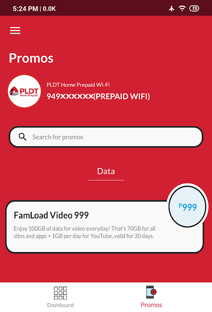 Famload Video 999 Promo